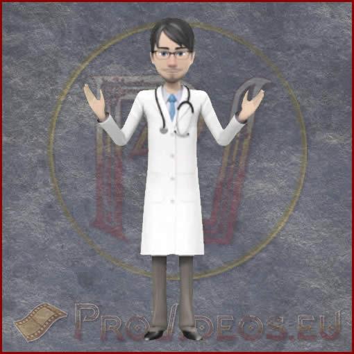 ProVideos Doc1 3D Avator