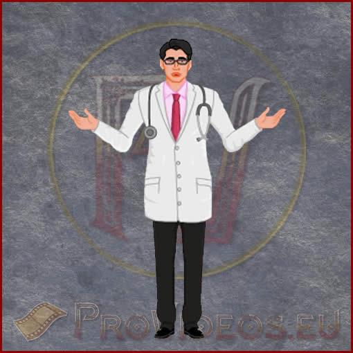 ProVideos Doctor-2 2D Avatar