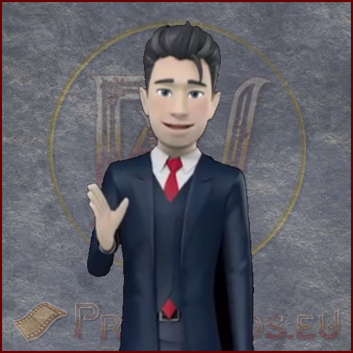 ProVideos Joe 3D Avator