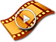 Pro Video Film Play Icon